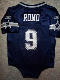 2011 2012 Dallas Cowboys Tony Romo NFL Infant Baby Newborn Jersey 18M