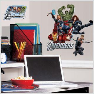 Stickers 17 Decals Room Decor Marvel Comic Book Hulk Iron Man