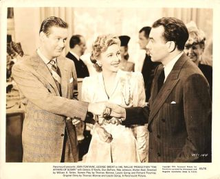 Joan Fontaine George Brent e Affairs of Susan1945