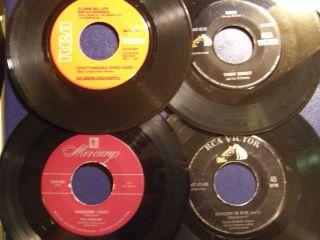 45s by Glenn Miller Tommy Dorsey Vic Damone George Gershwin