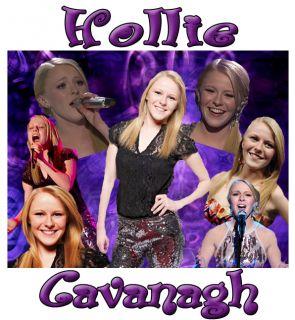 American Idol 2012 Hollie Cavanagh Custom T Shirt