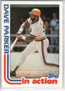 Dave Parker 1982 Topps 41