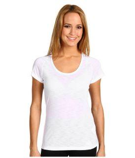 NWT ADIDAS WOMENS VARSITY LAYER TEE WHITE / LIGHT GRAY SZ XL