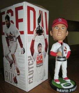 DAVID FREESE MVP BOBBLEHEAD NODDER ST. LOUIS CARDINALS SGA GIVEAWAY 5