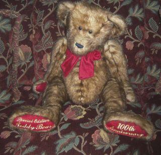 30 Dan Dee 100 Anniversary Special Edition Teddy Bear