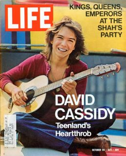 DAVID CASSIDY Partridge Family H RAP BROWN Virginia Slims   29 October