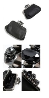Fashion Skull Ring Pattern Women Clutch Purse Bag Handbag