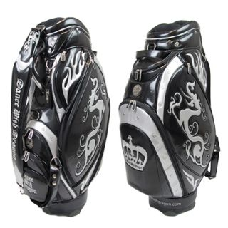 Dance with Dragon Japan Limited Model Crown Caddy Bag Black Silver