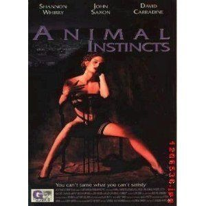 Animal Instincts DVD Shannon Whirry John Saxon David Carradine