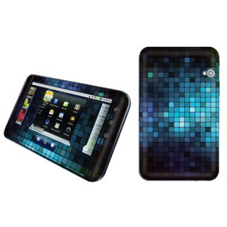 Mosaic Blue Vinyl Case Decal Skin to Cover Dell Streak 7 Tablet