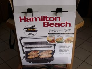 Hamilton Beach indoor grill in Indoor Grills