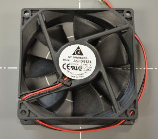 Delta Electronics 12V DC 08A 92mm x 92mm x 25mm Brushless Fan ASB0912L