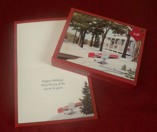 Lang Boxed Christmas Cards Christmas at The Cottage by David