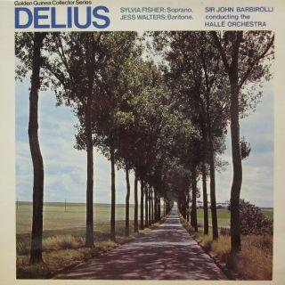 Delius Vinyl LP Delius Pye Golden Guinea GSGC 4075 UK EX VG