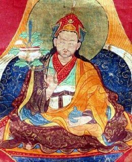 Lingam Stone Buddhist Monk Master Protection Yin Yang Tibet