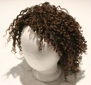 MidwayDena Cali Brown Curly Hair Wig Great for Dressup Costume