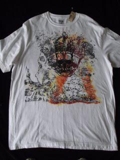 Daniel Cremieux NWT White Skull T Shirt 2XLT 2XT Cotton