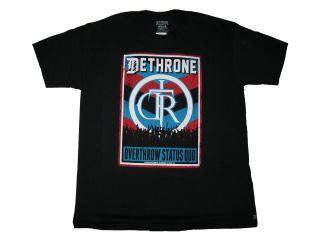 Dethrone Royalty Overthrow Poster Tshirt UFC MMA