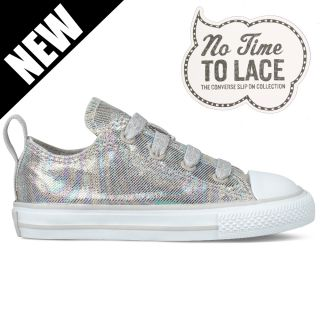 Chuck Taylor All Star Stretch Lace Ox Infant Trainer Rainy Day