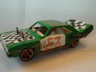64 Scale 67 Plymouth Belvedere Demolition Derby Car