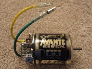 New Tamiya 2011 Avante Gold 53779 Special Edition Label GT Tuned 25T