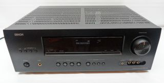 AS IS Denon AVR 1312 5 1 Channel A V Dolby Digital Surround Reciever