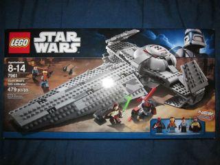 LEGO Star Wars Set 7961 Darth Mauls Sith Infiltrator Panaka Qui Gon