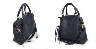 in Korea New Genuine Leather Shoulder Tote Hand Bag Purse Daryn