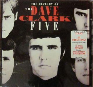 The Dave Clark Five 2CD Album History of Hollywood Records HR 61482 2
