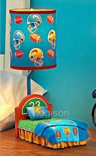 Sports Football Design Bedside Table Lamp Very Unique