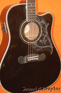 Epiphone Dave Navarro Signature Model Acoustic Electric Guitar B7912