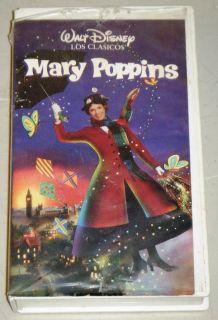 VHS Movie Walt Disney 1964 Julie Andrews Spanish Edition
