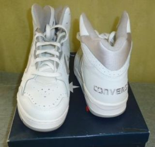 Vtg 80s 90s Mens Classic High 12078 Converse Leather Sneakers Shoes
