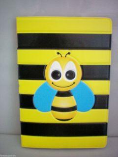 Black Yellow Bee Design Travel Passport Holder Cover Case Free