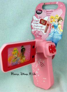 Princess Tiana Snow White Toy Video Camera Camcorder
