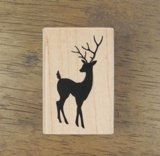 Decorative Stamps Rubber Stamp Rudolph