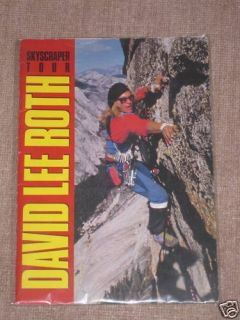David Lee Roth 1988 Skyscraper Japan Tour Programm EX