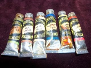 Vintage Devoe & Raynolds Artist Oil Colors in Tubes with box Complete