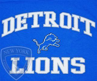 DETROIT LIONS T SHIRT MATTHEW STAFFORD NFL FOOTBALL LOGO TEE XXL