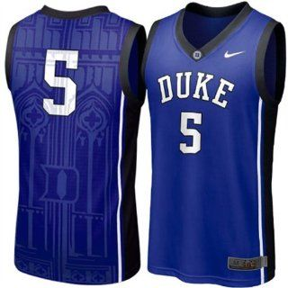 Duke Blue Devils 5 Nike Royal Blue Youth Basketball Jersey Sz XL 20