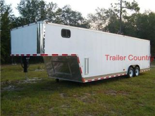 New 8 5x32 8 5 x 32 Enclosed Gooseneck Cargo Trailer