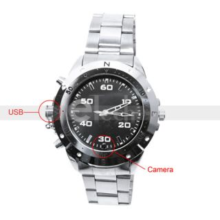 High Vdeo DVR Definition Watch Pinhole Camera Home Surveillance Memory
