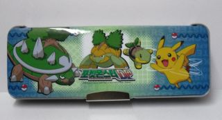 Pokemon Diamond Pearl Pikachu 2 Sided Pencil Case A