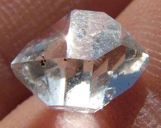 Herkimer Diamond Quartz Crystal DT Choice New York 7058S3