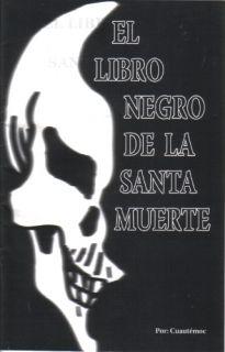 El Libro Negro de La Santa Muerte Plus Megaposter Book