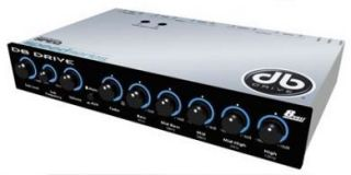 DB Drive SPEQ5 5 Band Pre Amp Equalizer Crossover Audio