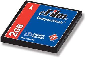 Delkin DDCFFLS2 2GB Open Box CompactFlash Memory Card
