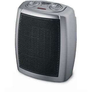 DeLonghi DCH1030 Safeheat 1500W Basic Ceramic Heater   Gray/Black
