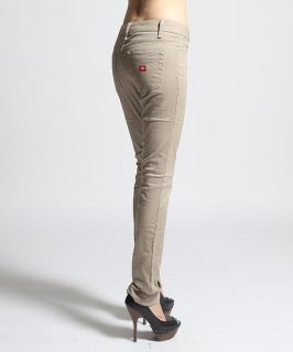 MOGAN Dickies Girls Twill Denim Skinny Pants Stretch Slimfit Work