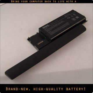 New Extended Life Battery Dell Latitude D620 D630